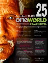 One World Festival Ottawa Poster