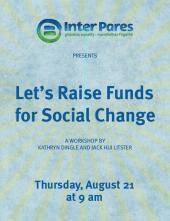 Let's Raise Money for Social Change