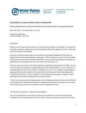 Presentation document cover