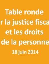 Table ronde sur la justice économique