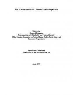 2005 Presentation cover