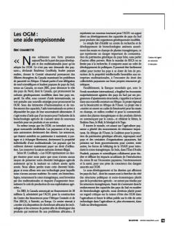 Page couverture de l'article 2006