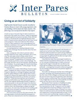 February 2009 Bulletin Cover