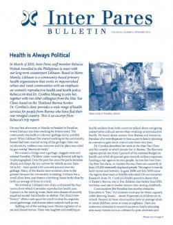 September 2010 Bulletin Cover