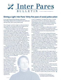 November 2010 Bulletin Cover