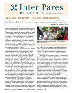 Page couverture du bulletin de Novembre 2011