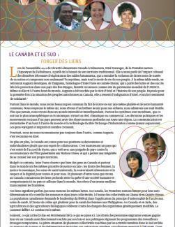 Page couverture du rapport annuel 2012