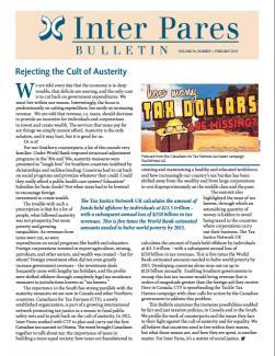 February 2013 Bulletin Cover