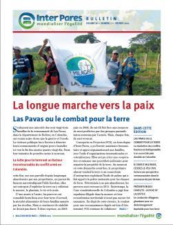 Page couverture du bulletin de Fevrier 2014