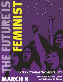 Poster for IWD Ottawa 2017 event