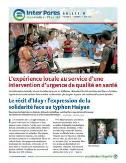 Page couverture du bulletin de juin 2014