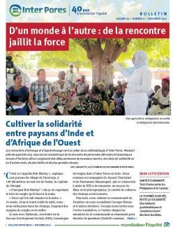 Page couverture du Bulletin du mois de novembre