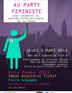 Affiche de la Journée internationale des femmes