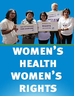 Women's Health Women's Rights 2018 Speaking Tour