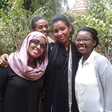 Sudanese women participants to SWRC leadership academy